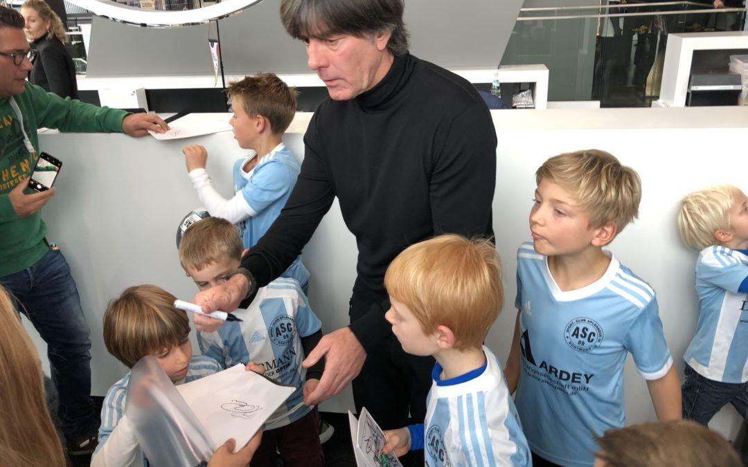 ASC-Junioren treffen Nationalspieler und Jogi Löw