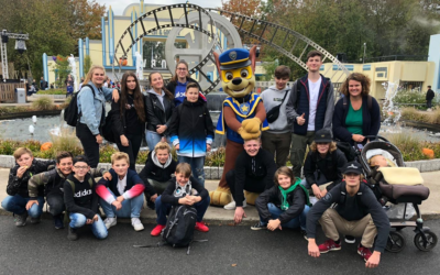 Movie-Park-Fahrt 2019 – Vereinsjugend auf Tour