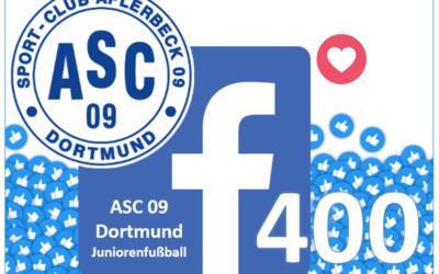 Wir sind begeistert – Über 400 Menschen haben unsere Facebook-Seite abonniert!