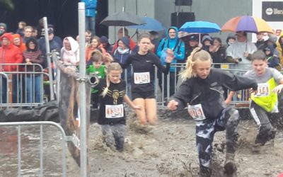 Weibliche C-Jugend erfolgreich beim Adventure Trail Run in Hemer