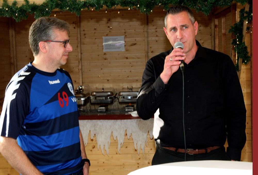 . . . und im Gespräch mit Andreas Kuno vom Autohaus Pflanz.