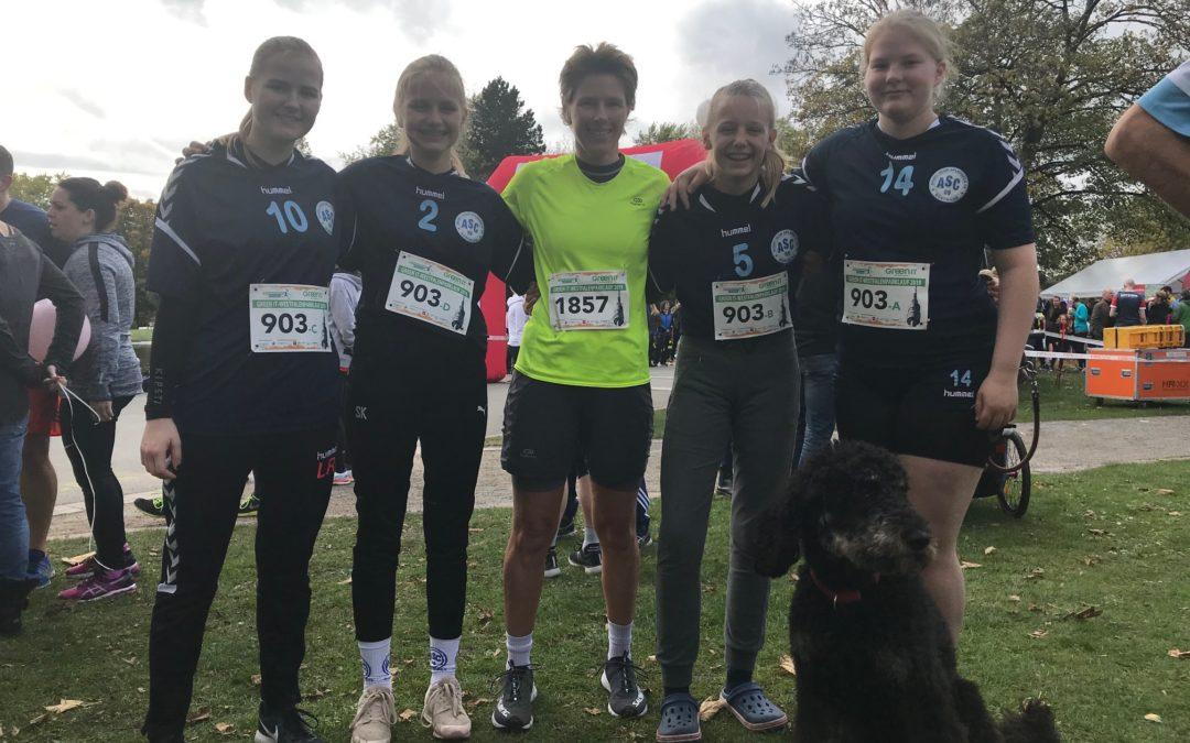 Weibliche C-Jugend beim Westfalenparklauf erfolgreich