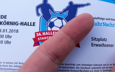 36. Hallenfußball-Stadtmeisterschaft: ASC 09 gegen Kruckel und Sölderholz