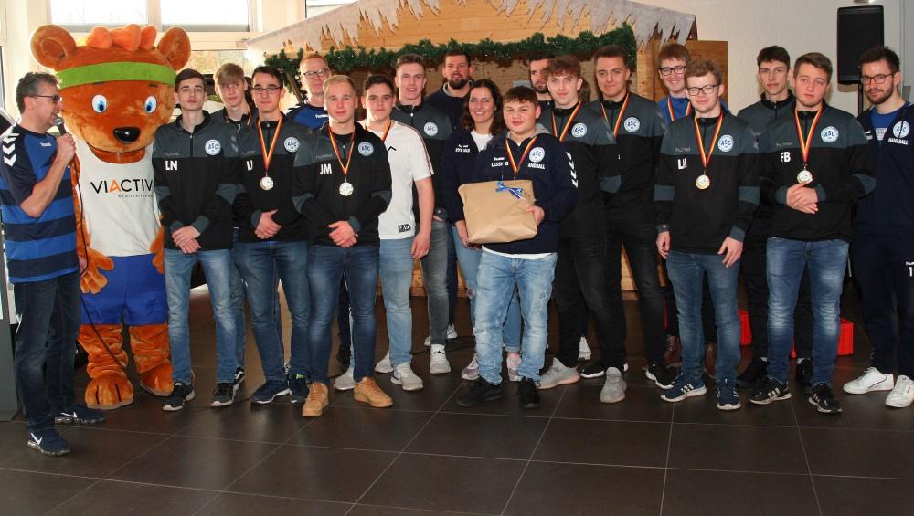 Stadtmeister: unsere männliche A-Jugend