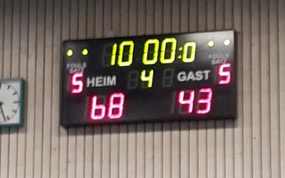 Basketball 1. Damen: Dritter Sieg am dritten Advent
