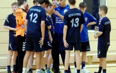 Kreisliga InDo, 9. Spieltag: ASC 09 – DJK Ewaldi Aplerbeck 26:32 (17:16)