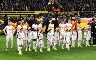 Einlaufkinder beim BVB – Unsere E2-Junioren erlebten Großartiges!