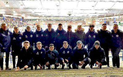 Fußball meets Eishockey – Unsere B1-Junioren zu Gast bei den Eisadlern Dortmund