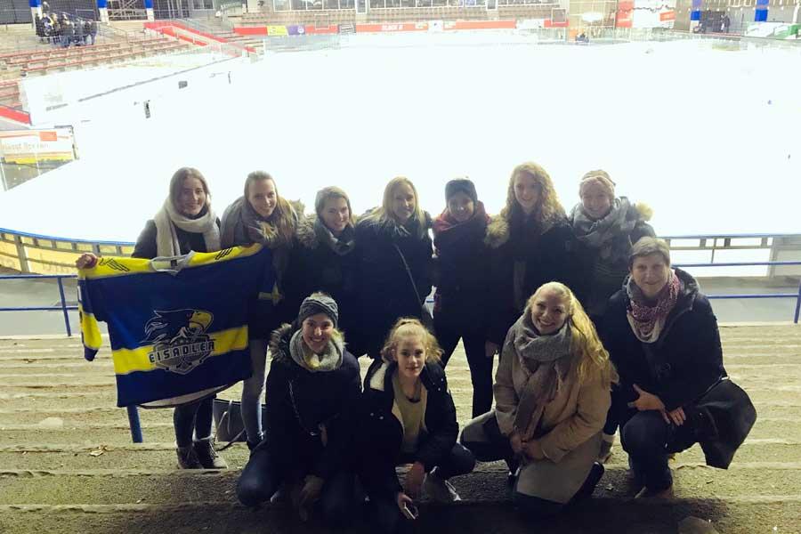 Basketball meets Eishockey – Der ASC zu Gast bei den Eisadlern Dortmund
