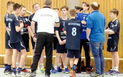 Kreisklasse InDo, 10. Spieltag: ASC 09 – Bochumer HC 20:29 (8:14)