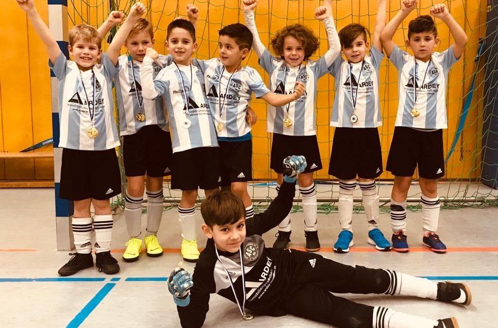 Der sechste Titel – F2-Junioren erobern in Unna den Drei-Königstitel 2020