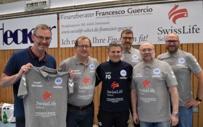 Swiss Life Select stattet das ASC 09-Tech-Team mit schicken Polos aus