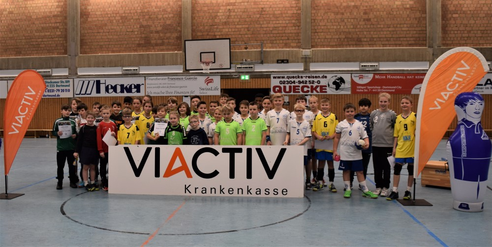 mE-Jugend des ASC 09 gewinnt den Viactiv-Cup 2020