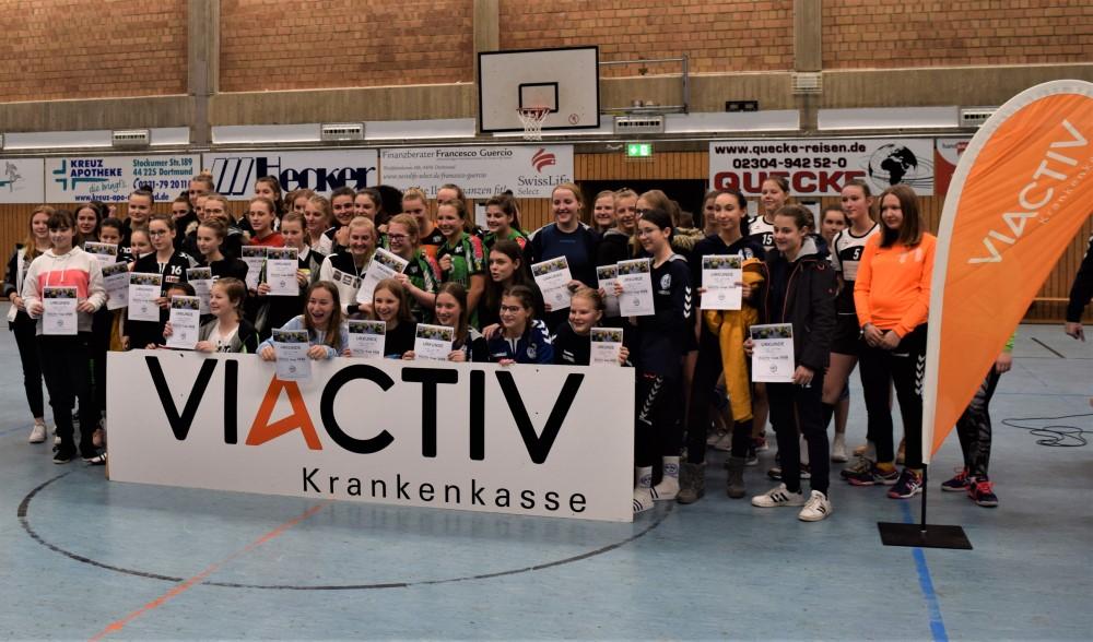ASC 09, Borussia Dortmund und HTV Hemer heißen die Sieger beim Viactiv-Cup 2020
