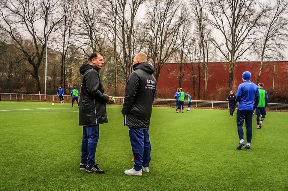 Neuer Coach! Antonios Kotziampassis