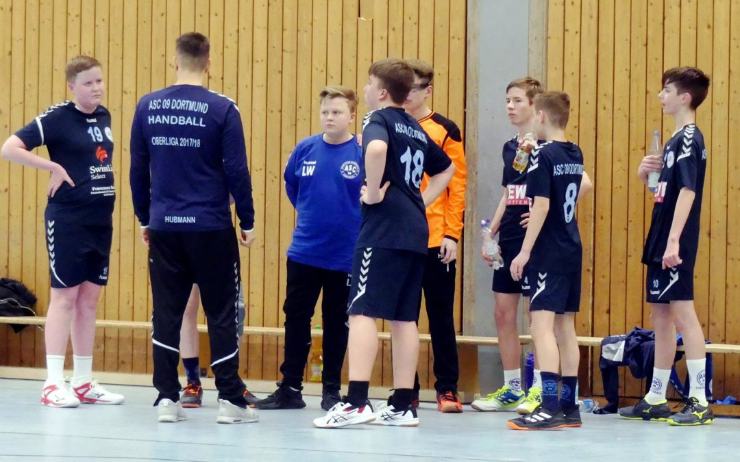 Kreisliga InDo 15. Spieltag: ASC 09 – HC Westfalia Herne 23:32 (11:14)