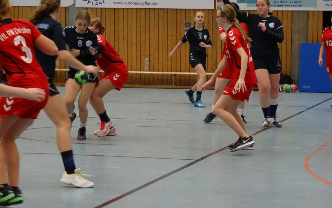 Kreisliga InDo, 13. Spieltag: ASC 09 – VfL Rot-Weiß Dorsten 31:19 (13:8)