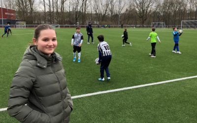"Lea Lammerding – Fußballjugend verpflichtet ""erste"" Praktikantin"