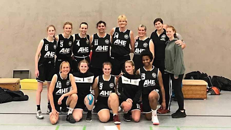 Basketball Damen 3 erobern Tabellenspitze der Bezirksliga