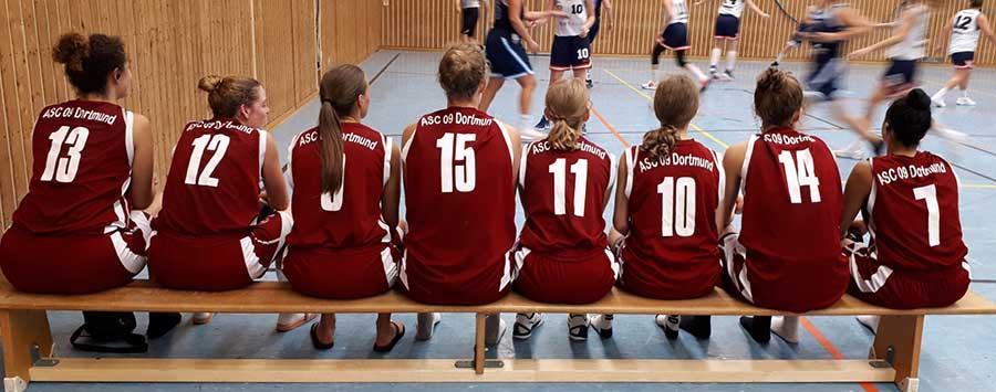 ASC 09 Basketball: 1. Damen siegen souverän