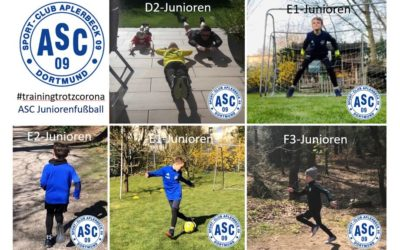 Training trotz Corona – ASC-Junioren im Individualtraining