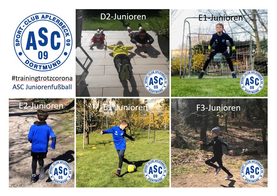 Training trotz Corona – ASC-Junioren im Individualtraining