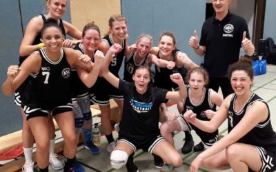 ASC 09 Basketball: Das Glück erkämpft – Damen 1 siegen in Münster