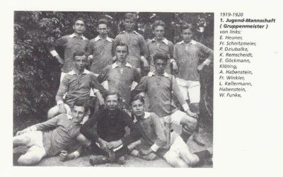 Blick in die Vergangenheit – Saison 1919/20 – A-Junioren