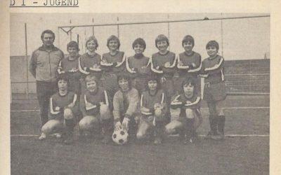 Blick in die Vergangenheit – Saison 1976/77 – D1-Junioren