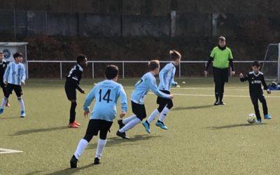 E1-Junioren – In der Meisterschaft seit Ende Januar ungeschlagen
