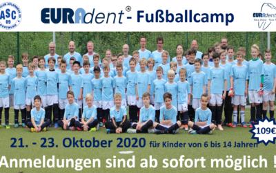 7. Euradent-Fußballcamp – Anmeldungen möglich…!