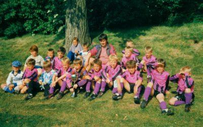 Blick in die Vergangenheit -Saison 1992/93 – F-Junioren