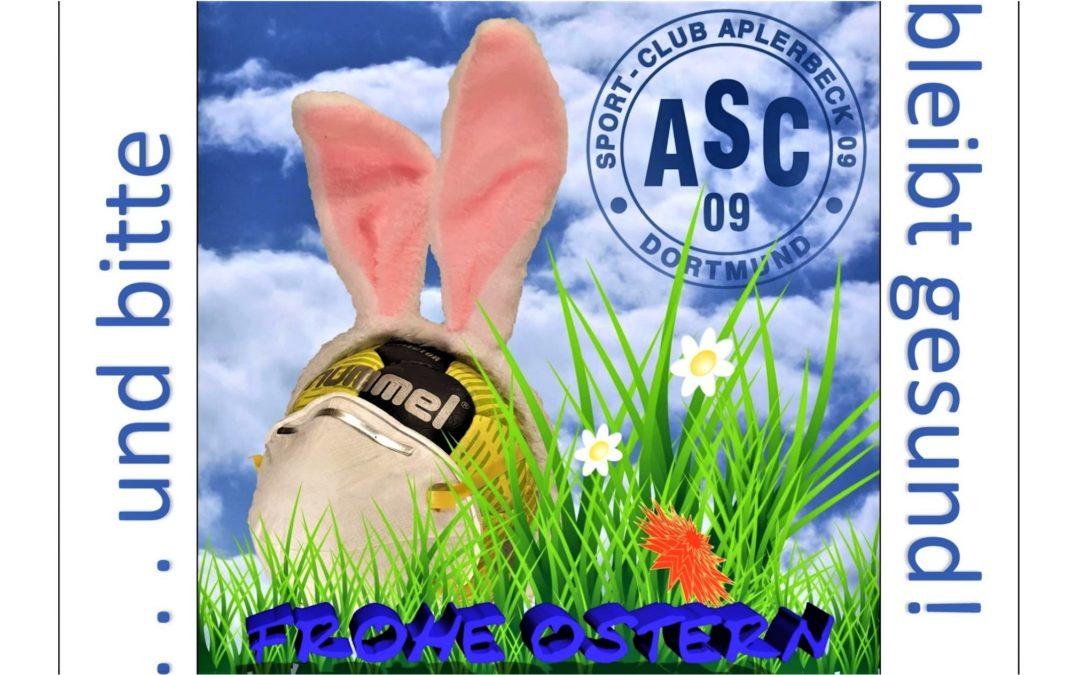 Trotz allem: Ein frohes Osterfest – und bleibt gesund!
