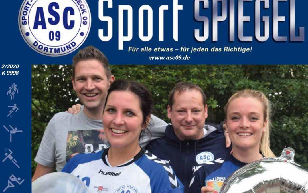 54 Seiten pralles ASC 09-Leben: Der neue SPORT-SPIEGEL ist da!