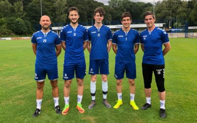 Gut angekommen – Junioren-Neuzugänge trainieren nun auf Bezirksliganiveau