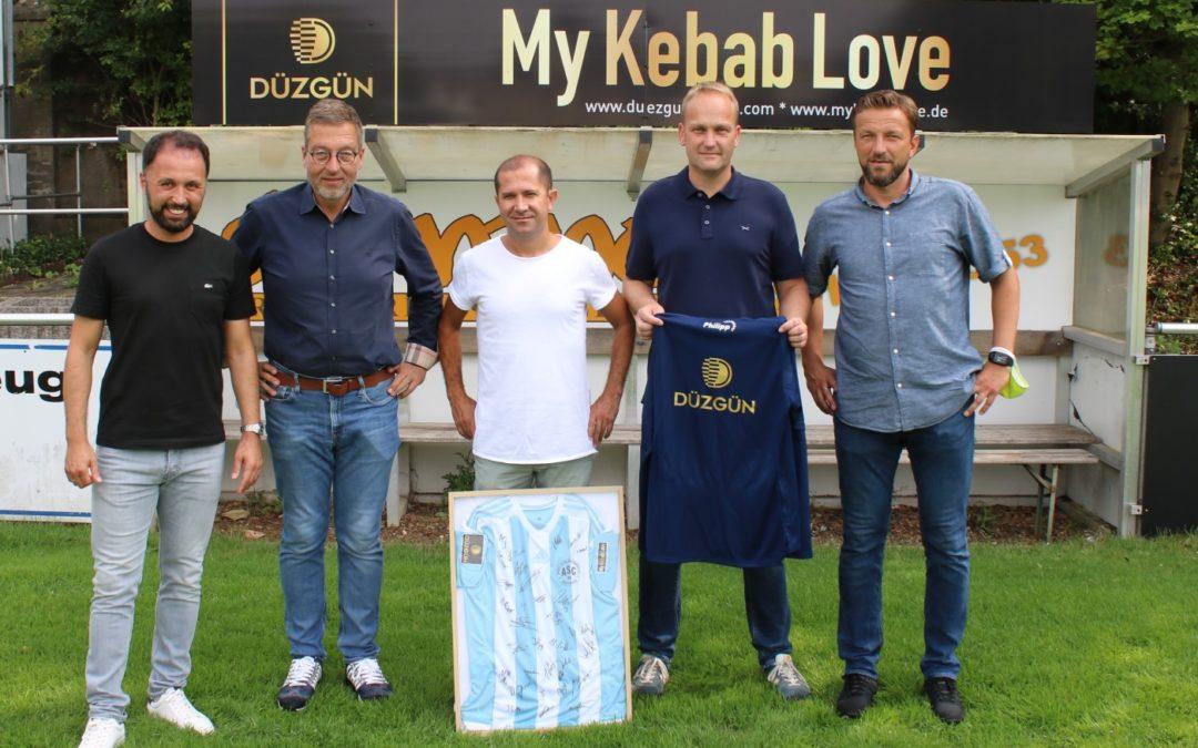 DÜZGÜN – My Kebab Love – Neuer Partner des ASC 09 !