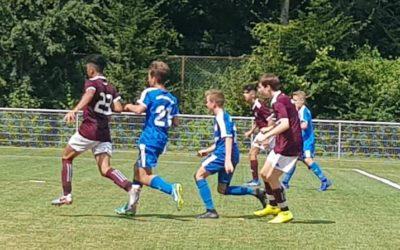 C1-Junioren feiern Auswärtssieg – 4-3 beim Westfalenligisten Hombrucher SV