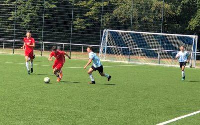 Kämpferisch überzeugend – A-Junioren mit Unentschieden gegen Bezirksligisten