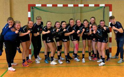 Erstes Pflichtspiel. Erster Krimi. Erster Sieg! – wB-Jugend gewinnt in Witten mit 20:18