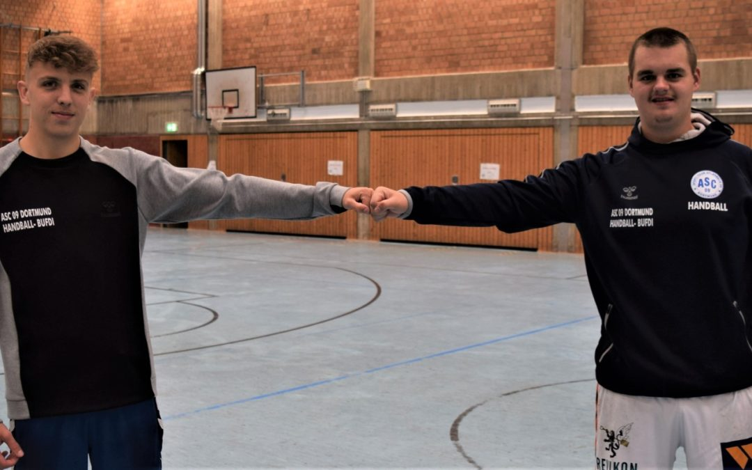 Bufdi-Wechsel bei den Handballern: Danke, Fynn – willkommen, Götz!