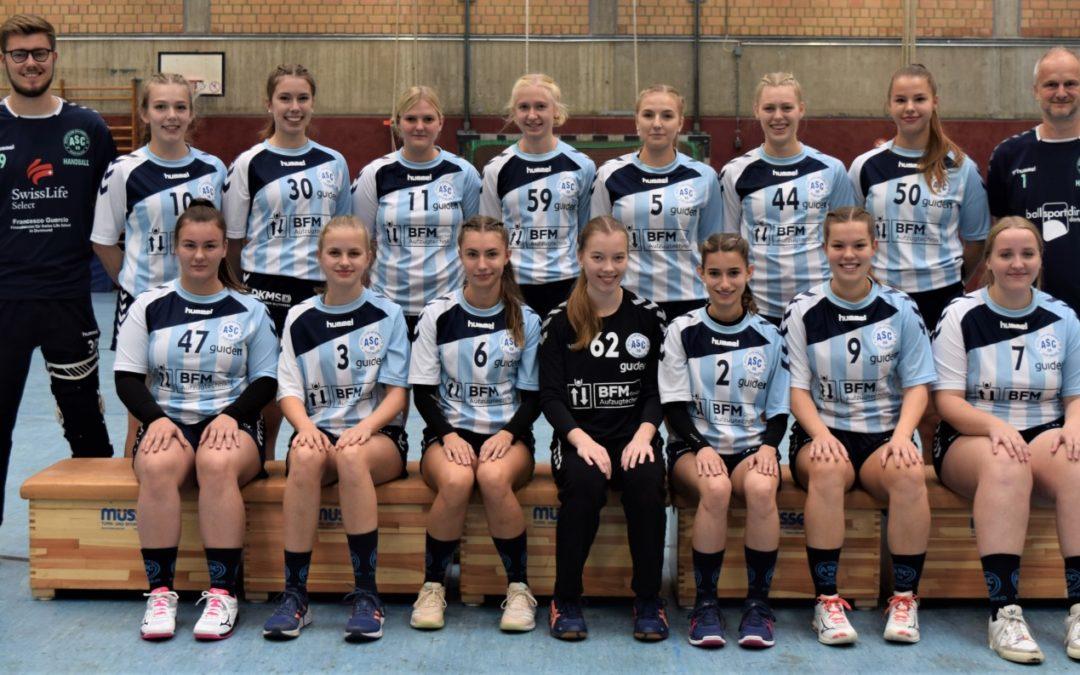Aufbruchstimmung: Wir suchen Handballerinnen der Jhg. 2003/04 für ambitionierte A-Jugend