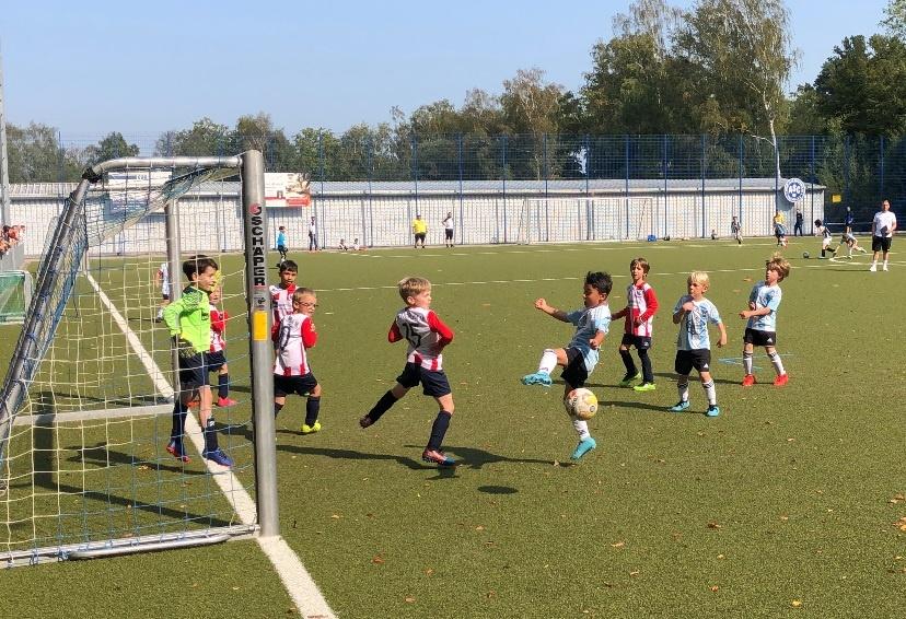 Gut in Form – Zweiter Sieg im zweiten Spiel für unsere F2-Junioren