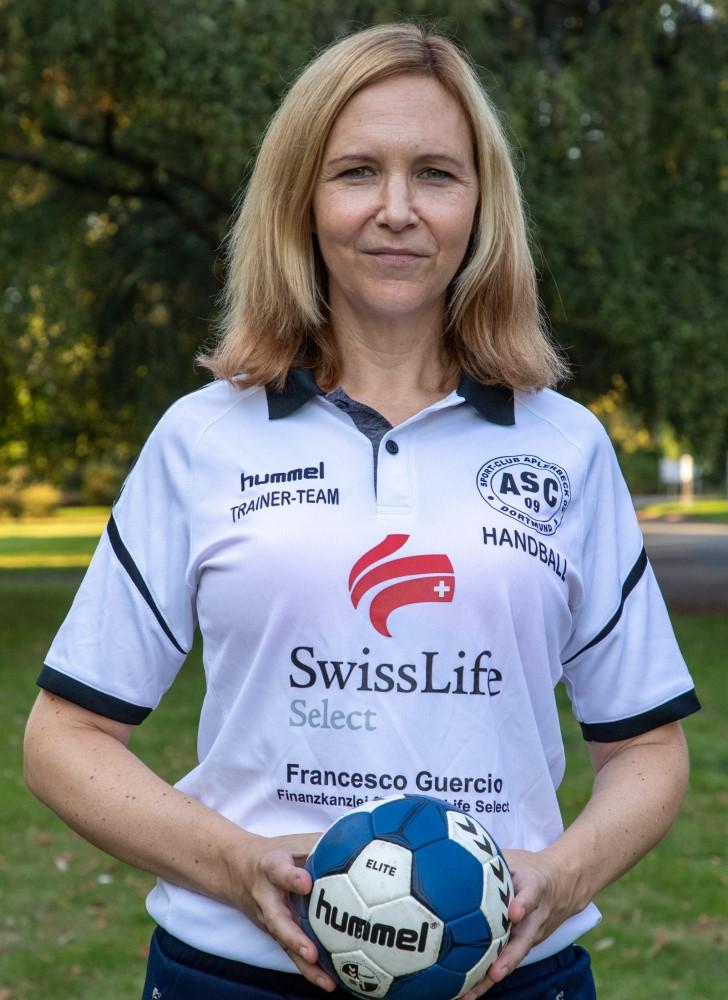 Trainerin Janine Westphal