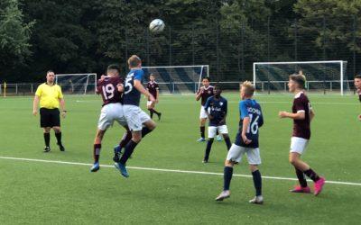 Juniorenfußball auf hohem Niveau – C1-Junioren schlagen den VfL Bochum