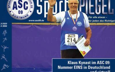 News & Reportagen auf 40 Seiten: Der neue ASC 09-Sport-SPIEGEL ist da!