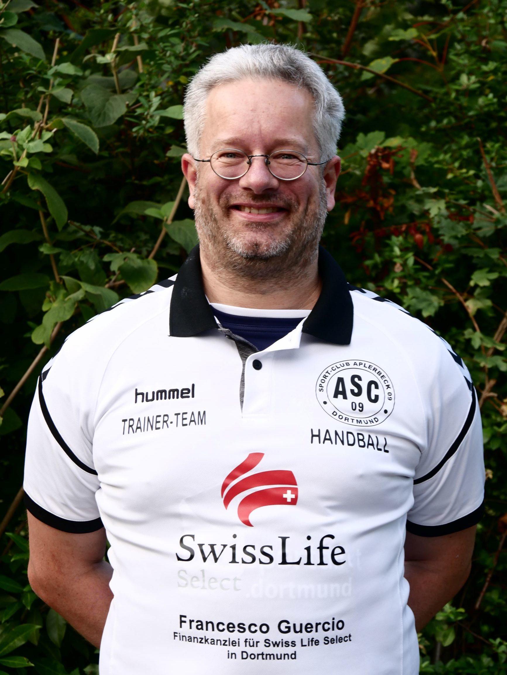 Teambetreuer Stefan Prothmann