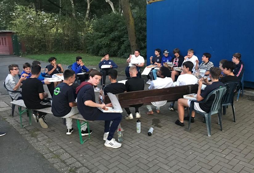C1-Junioren – Teamwochenende und weitere Testspielsiege