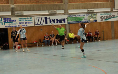 Verbandsliga, 3. Spieltag: ASC 09 2 –SG Menden Sauerland Wölfe 29:24 (15:8)