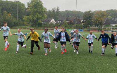 Sprung auf Platz 2 – D3-Junioren siegen beim TuS Holzen-Sommerberg