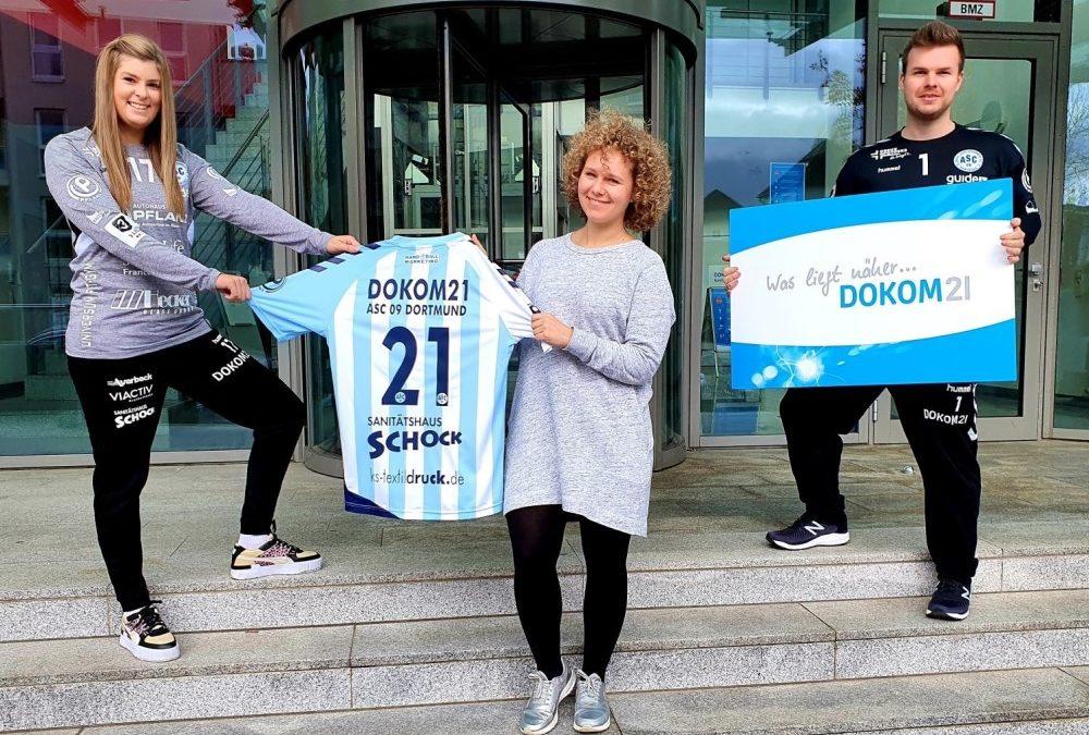 DOKOM21: Lange beim Handball – jetzt auch Partner des ASC 09!